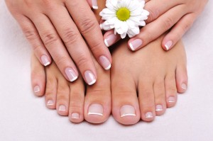 day spa, pedicures, day spa services, manicure, summertime nail color