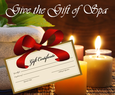 Space Coast Massage Gift Certificates