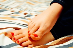 pedicure and healthy feet